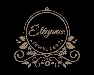 Elegant Jewelry Logo design.