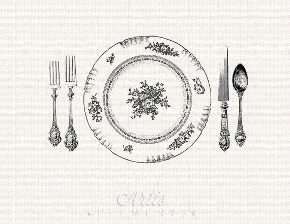 Lunch clipart elegant luncheon, Lunch elegant luncheon.