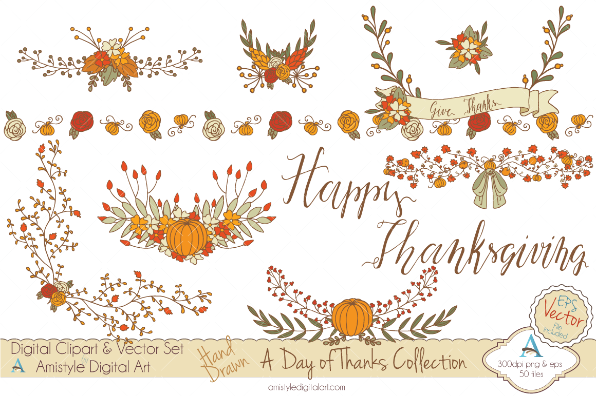 Elegant Wreath Clipart.