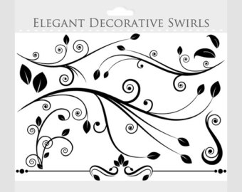 elegant party clipart #5