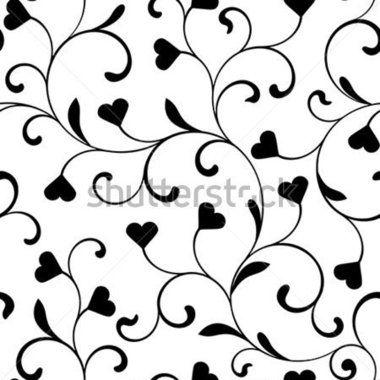 Elegant Swirl Free Vector Pattern, Vector Image.