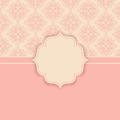 Elegant pattern background.