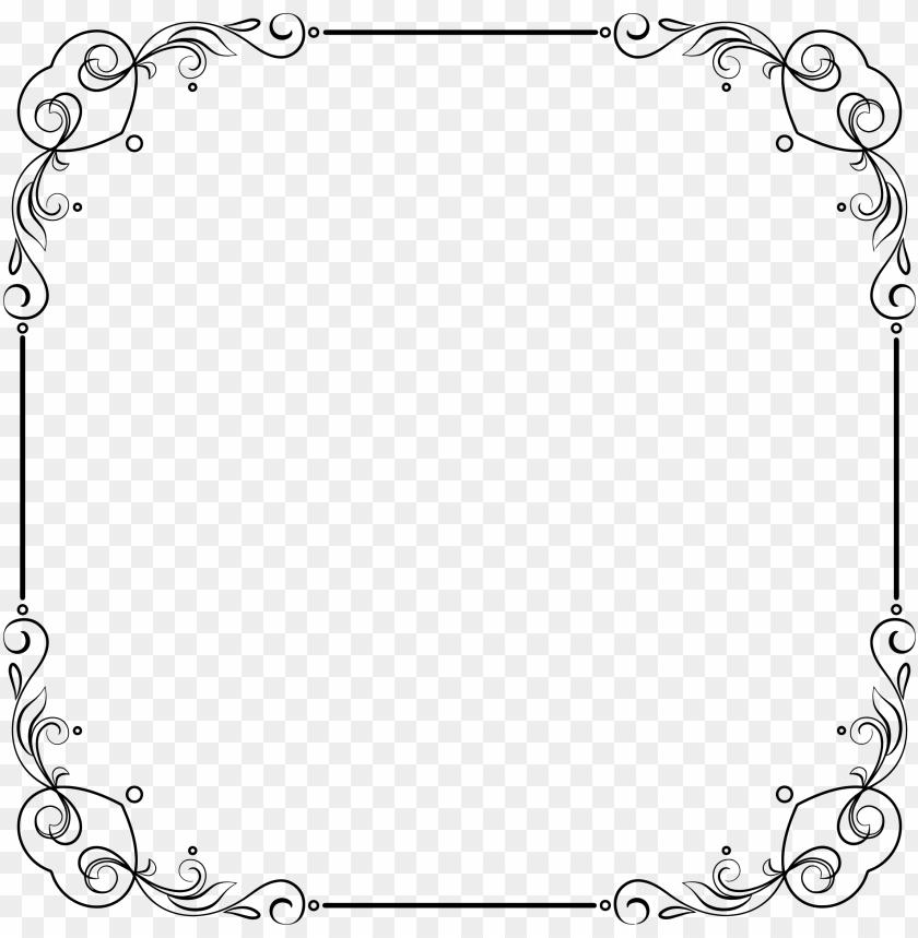 clipart elegant frame big.
