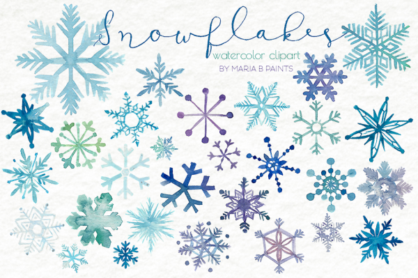 21+ Snowflake Cliparts.