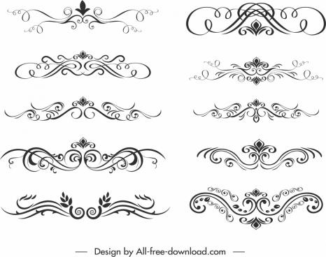 Elegant swirls free vector download (8,895 Free vector) for.
