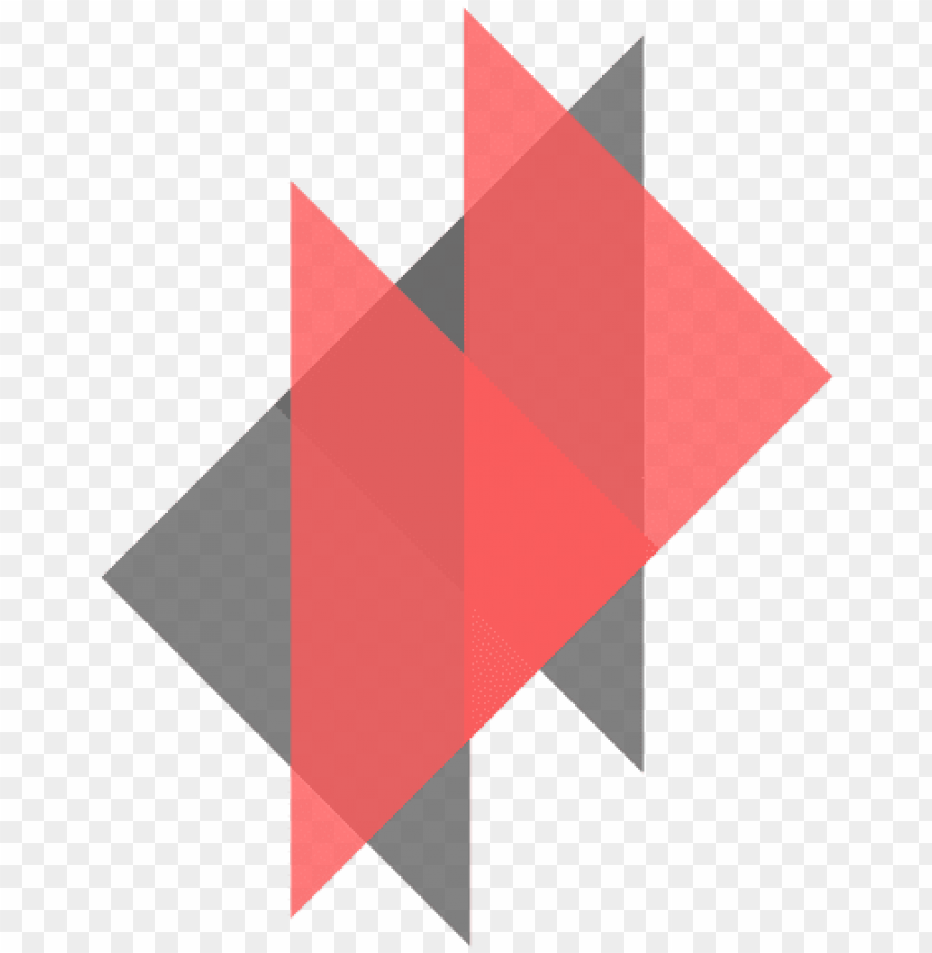 triangles graphic element png.
