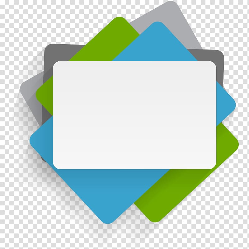 White, green, and blue boards , Infographic Illustration, PPT.