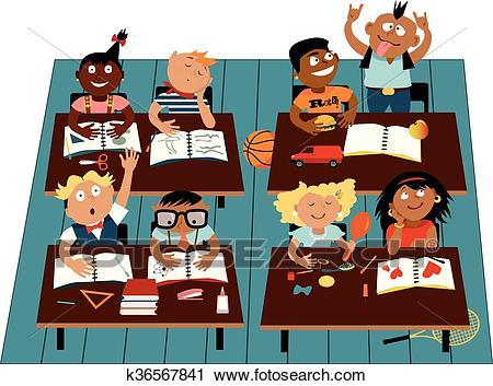 Elementary school Clipart.