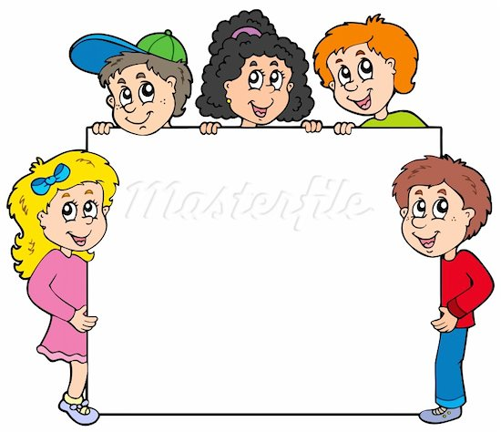 Elementary student clipart.
