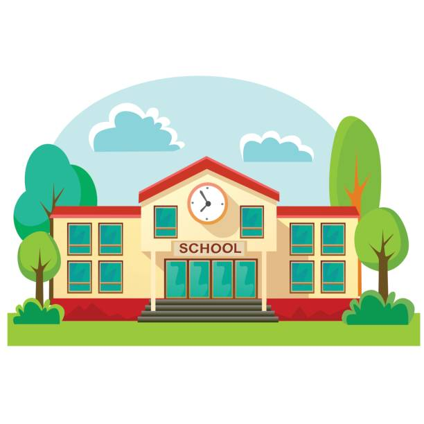 Elementary school building clipart 6 » Clipart Station.