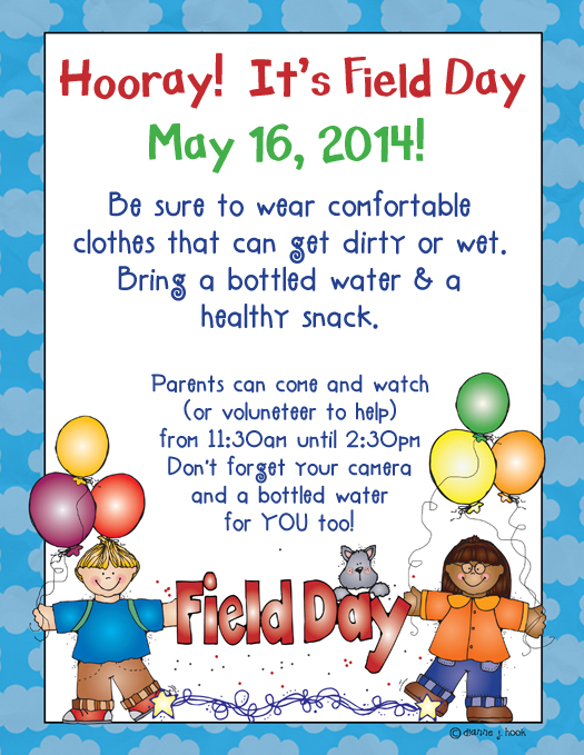 Showing post & media for Elementary field day flyer.
