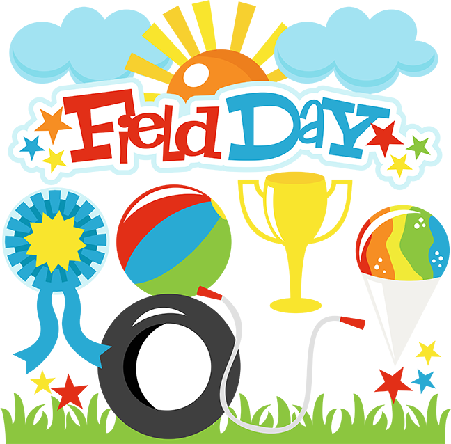 Field Day Banner Clipart.