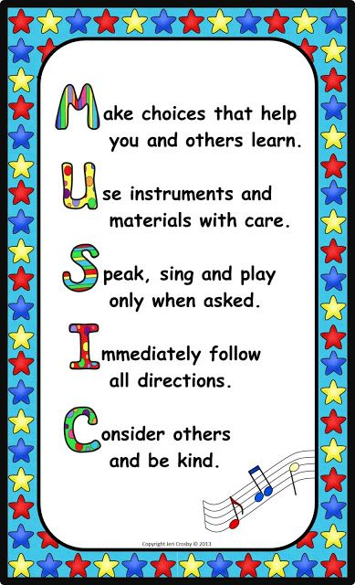 25+ best ideas about Music Class Rules on Pinterest.