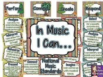 Elementary Music Class Clipart.
