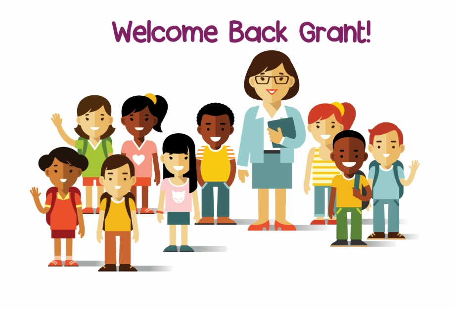 Grant Elementary School Pta Multicultural Kids Clipart.