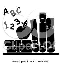 clip art black and white.