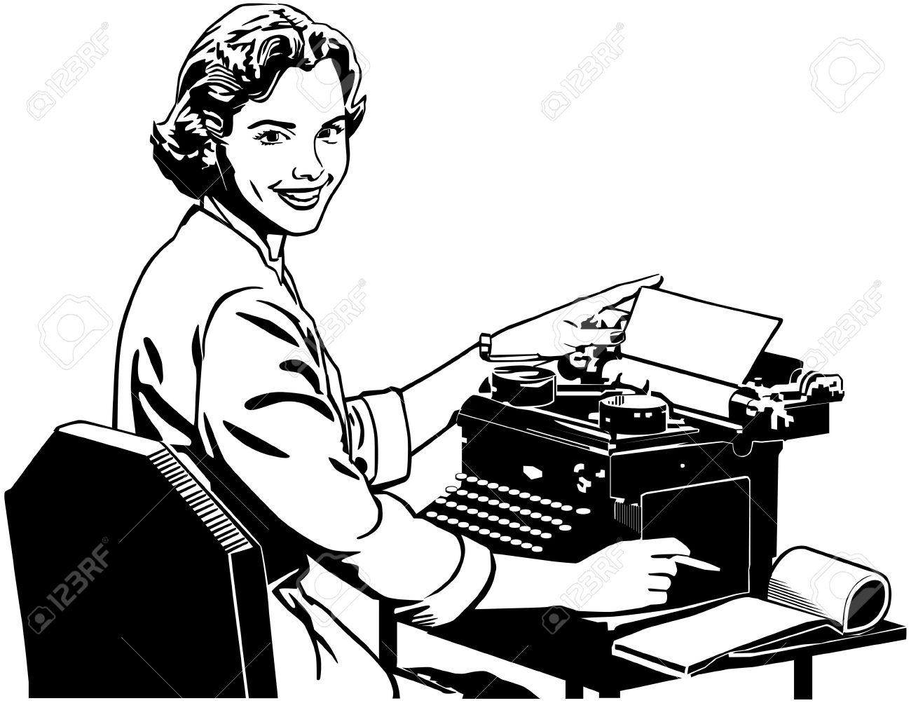 Secretary Clipart Cute.