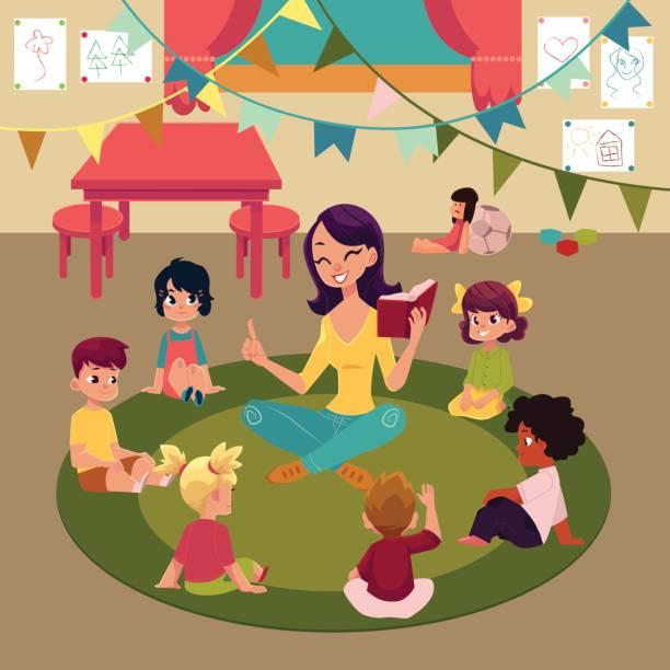 Best Elementary Teacher Illustrations, Royalty.