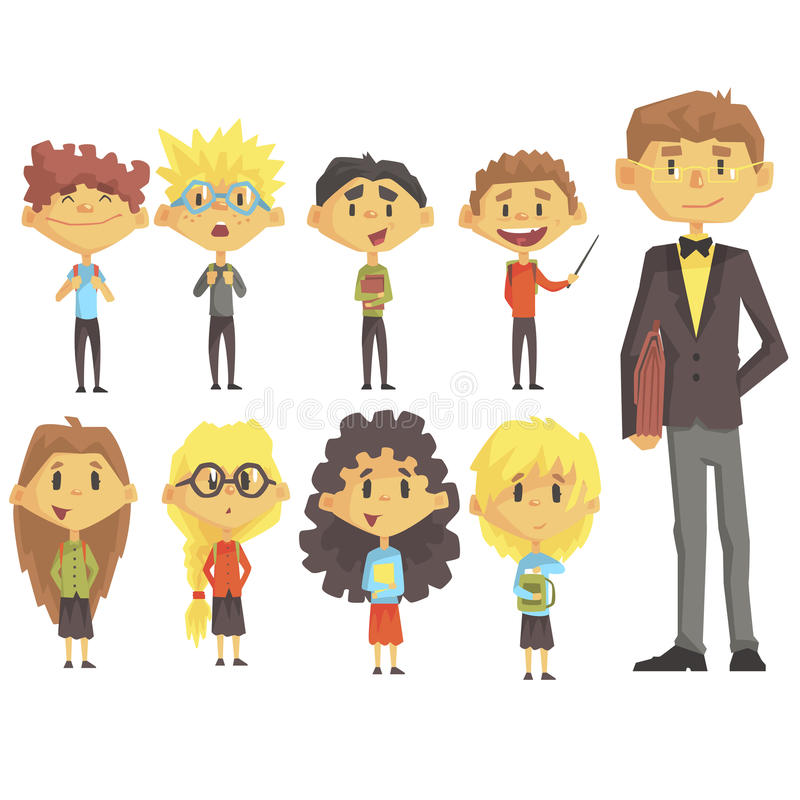 Elementary Teacher Stock Illustrations.