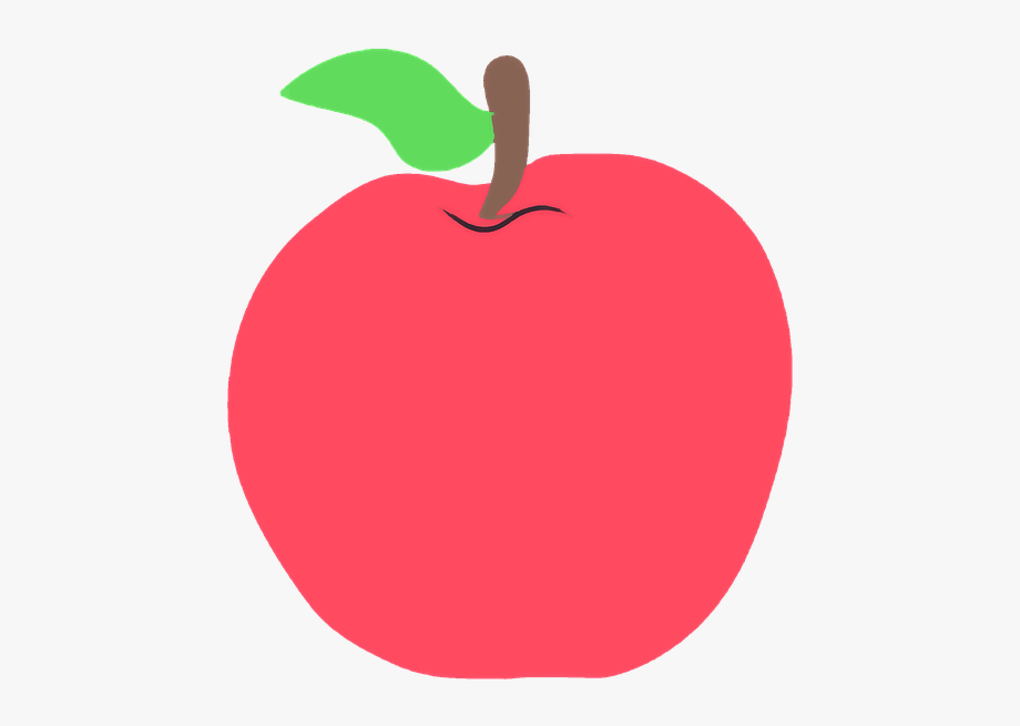 Teacher Apple School Elementary Teaching Fruit.