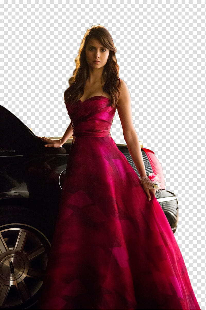 The Vampire Diaries Elena Gilbert transparent background PNG clipart.