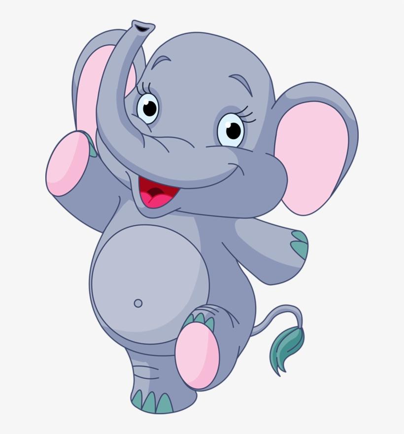 Clipart Transparent Clipart Baby Elephant.