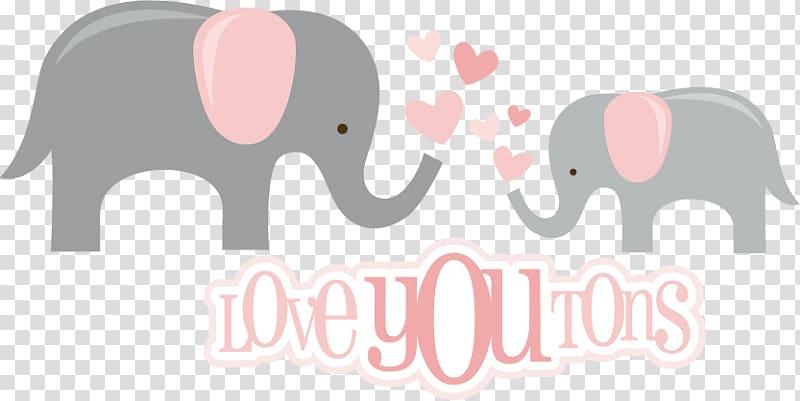 Indian elephant African elephant , elephant baby shower transparent.