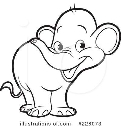 Elephant Black And White Clipart (100+ images in Collection) Page 2.
