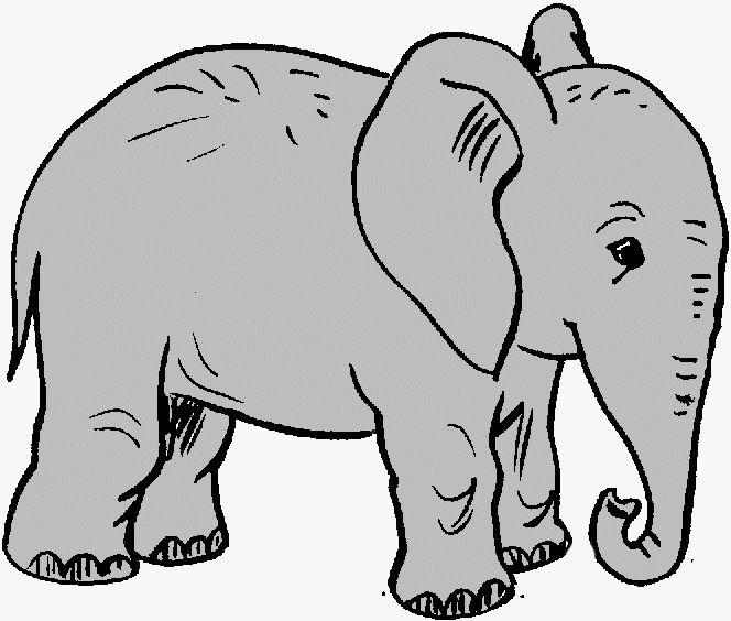 70 Free Elephant Clipart.