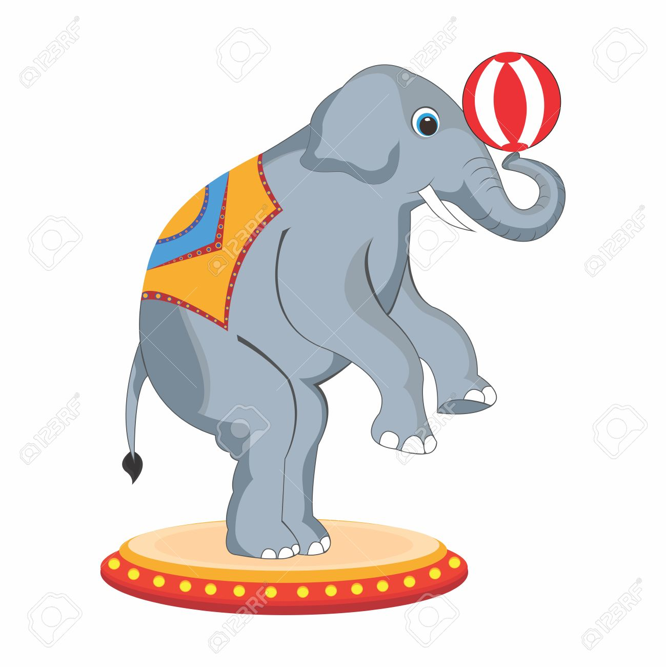 4682 Circus free clipart.