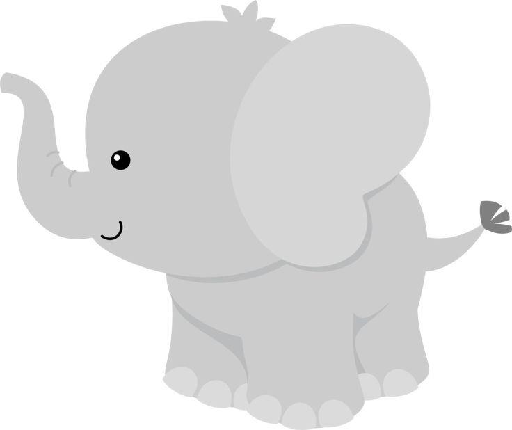 Baby Elephant Clip Art.