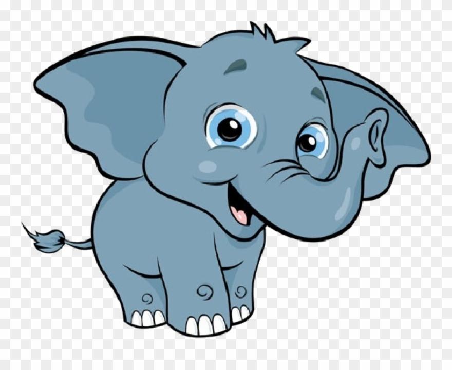 Cute Elephant Clipart Free Download Clip Art.