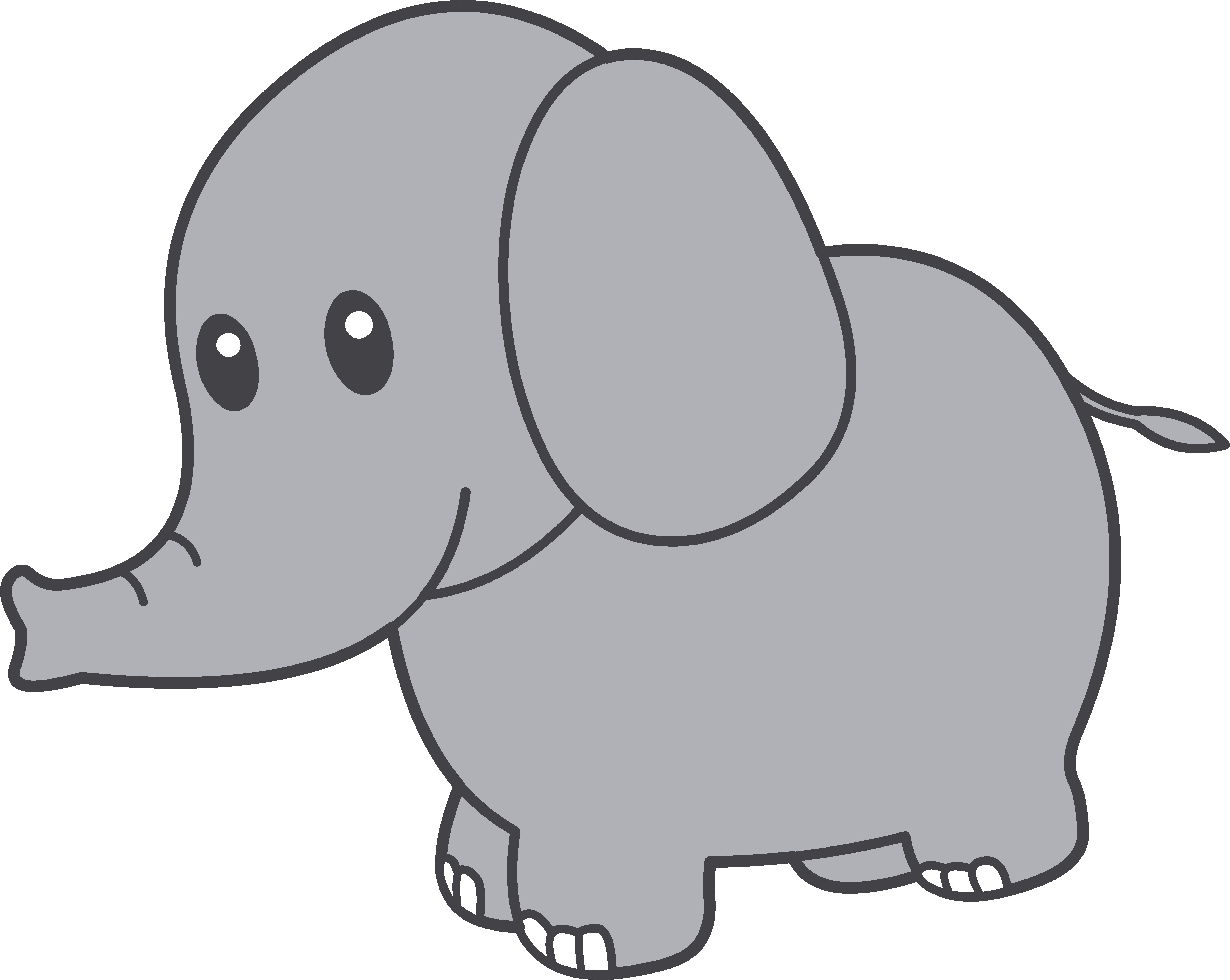 Cute elephant clipart free clipart images.