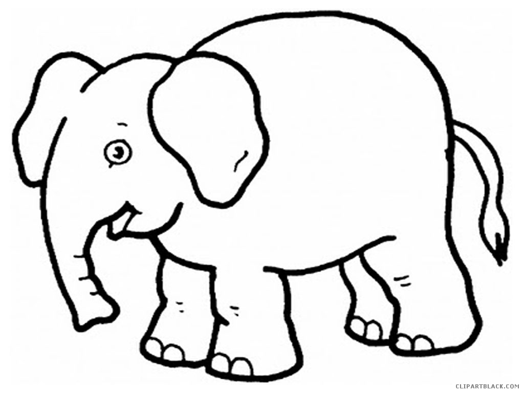 Free elephant clipart black and white 3 » Clipart Station.