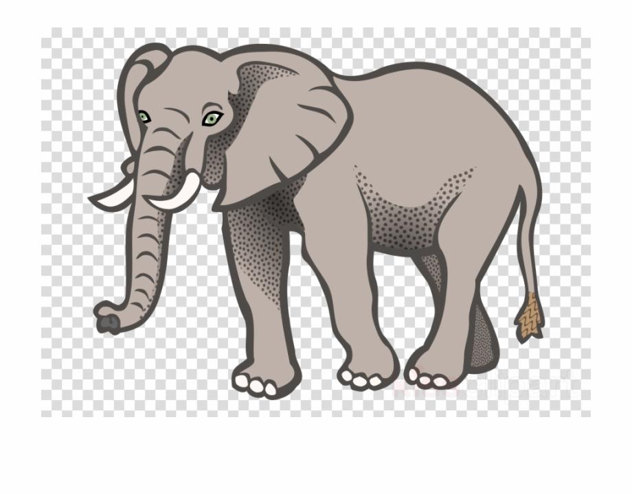Download Clip Art Elephant Clipart African Bush Elephant.