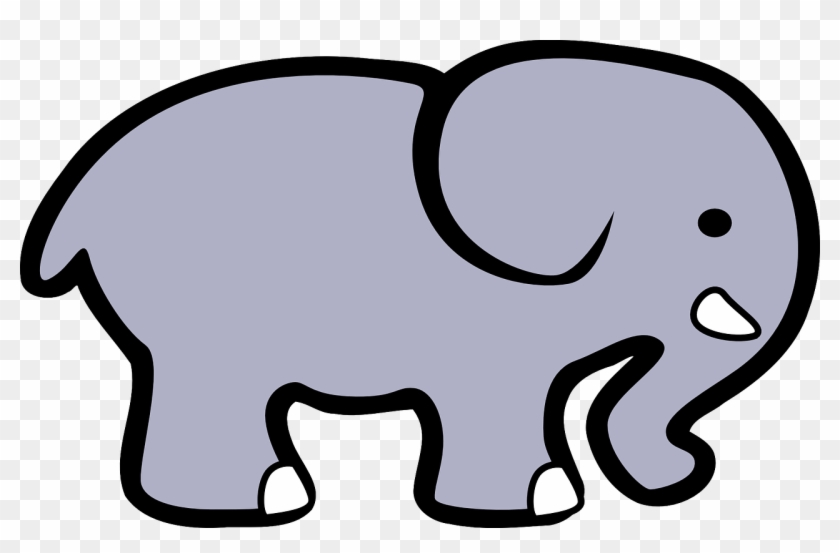 Elephant Africa Cartoon Comic Png Image.