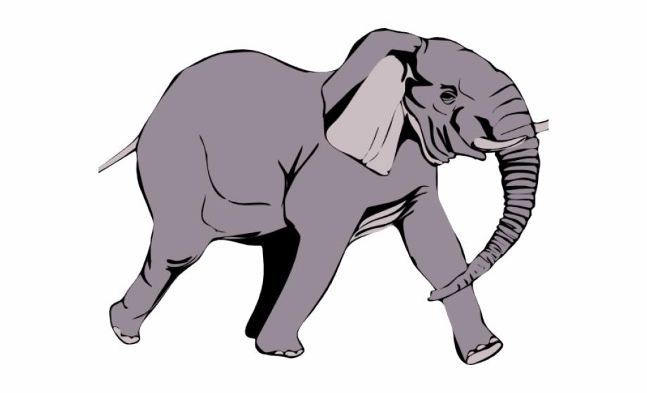 Elephant Clipart Vector.