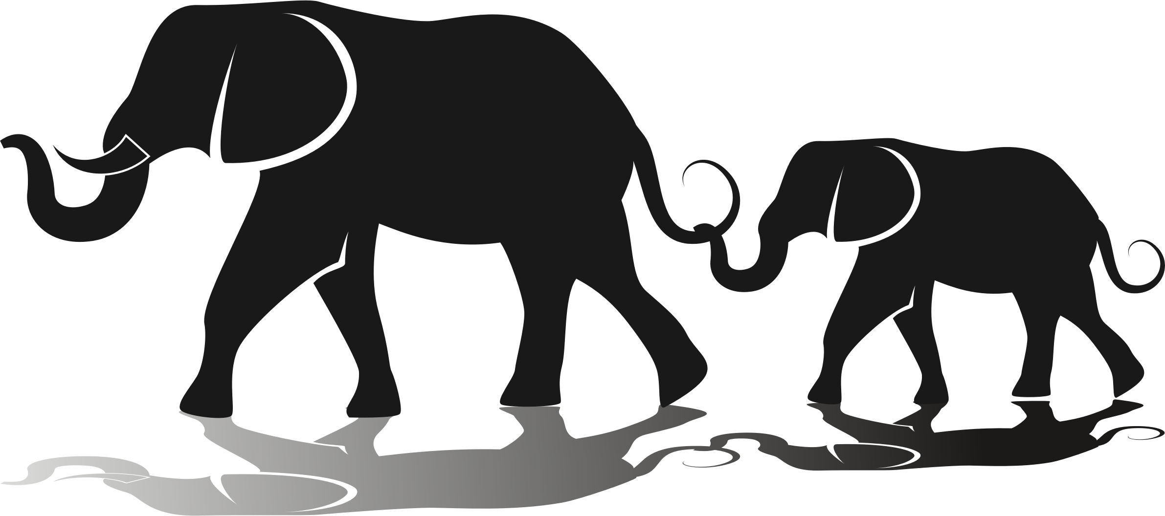 Elephant clipart silhouette clipart images gallery for free download.