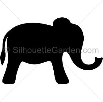 Indian Elephant clipart.