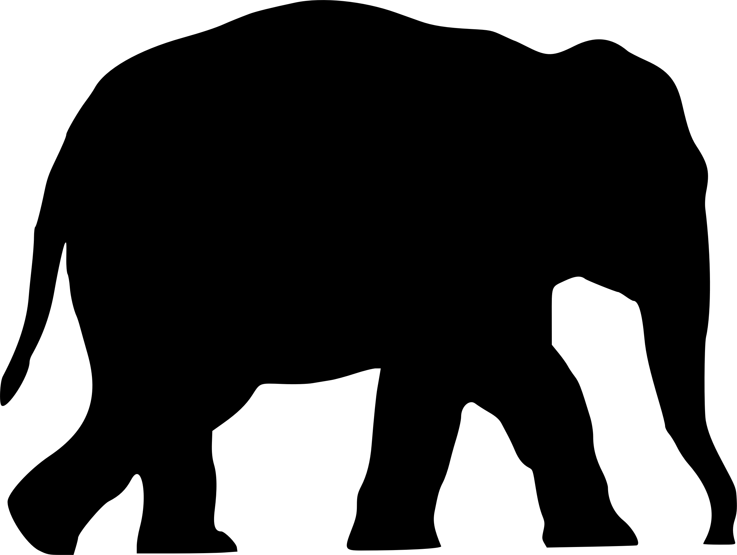 Elephant Clipart Silhouette Free Best Transparent Png.