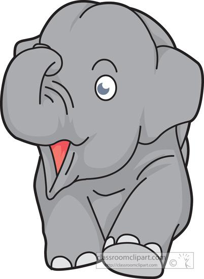 Elephant clipart jpg.