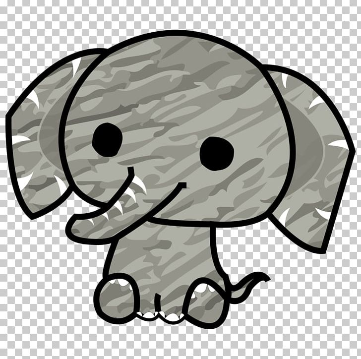 Elephant Drawing PNG, Clipart, Animals, Art, Black And White.