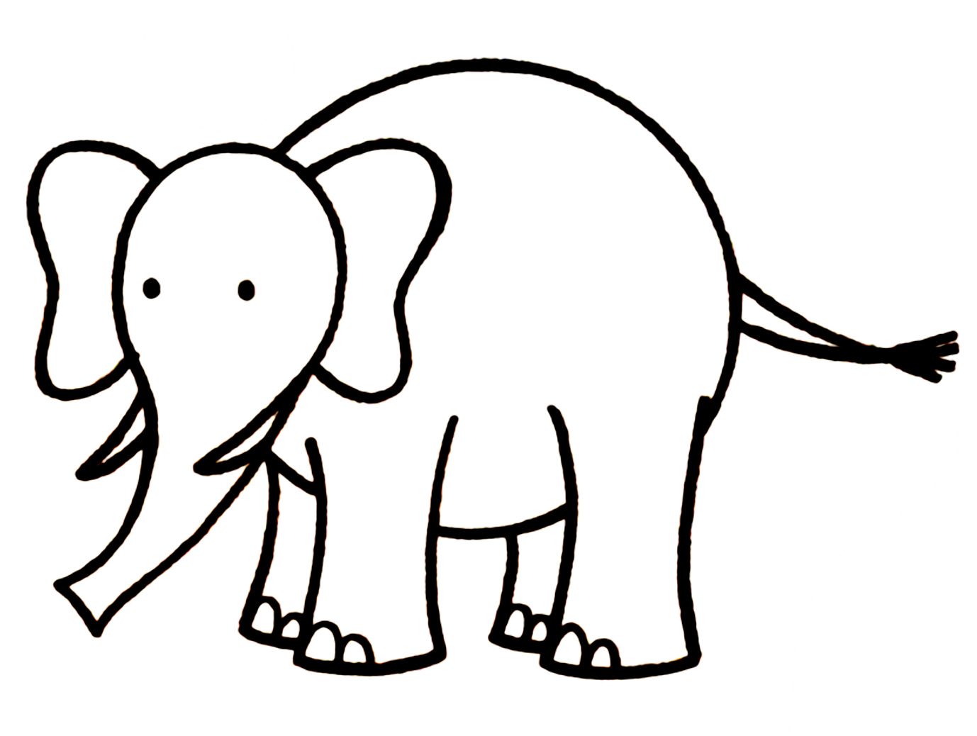 Free Elephant Drawing, Download Free Clip Art, Free Clip Art on.