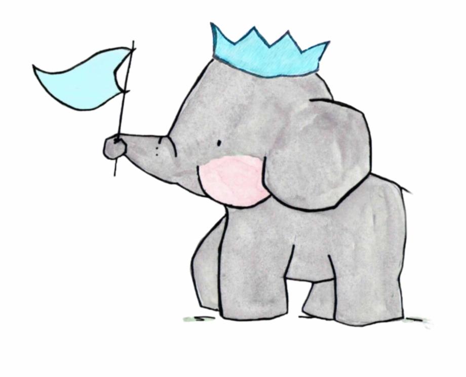 Drawing Elephants Family.