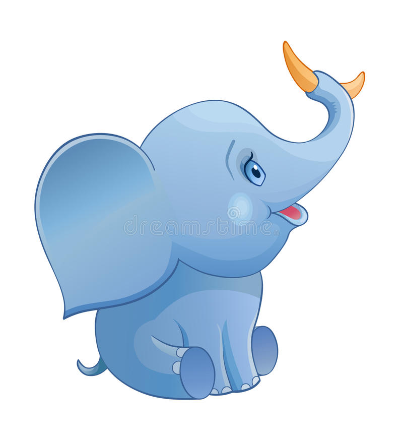 Eat Elephant Stock Illustrations.