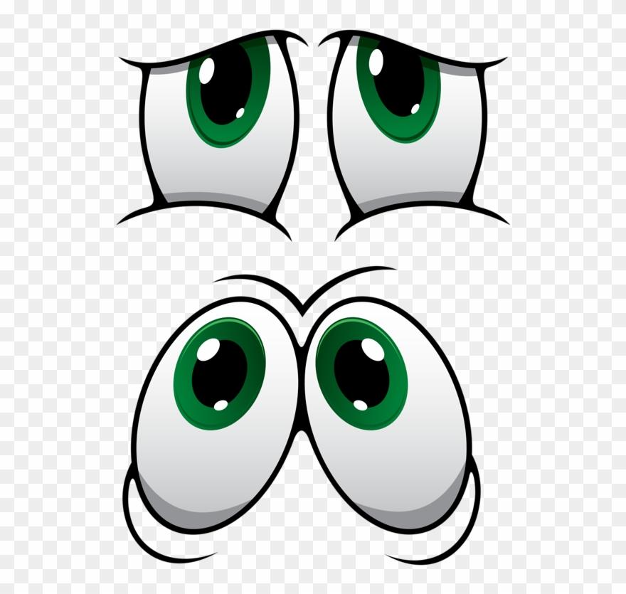 Eyelash Clipart Caricature.
