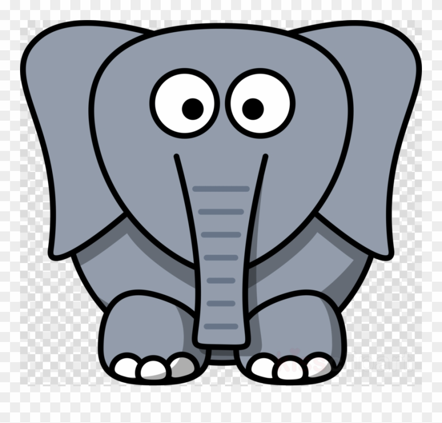Cartoon Elephant Face Clipart Drawing Elephants Clip.