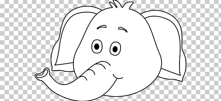 Asian Elephant Black And White PNG, Clipart, Black, Cartoon, Child.