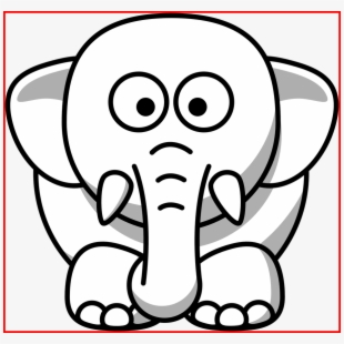 Free Free Elephant Clipart Black And White Cliparts, Silhouettes.