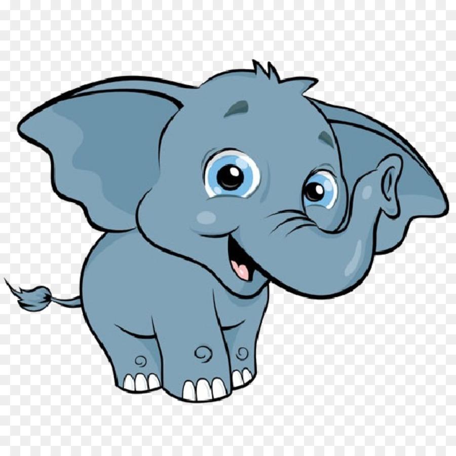 Elephant Cartoon clipart.